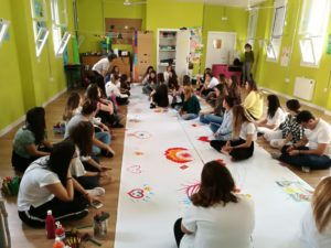 Taller de expresión emocional a través del arte para jóvenes