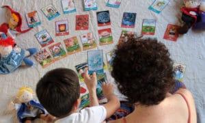 Baraja de cartas para crear jugando